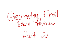 showme geometry semester 2 final review