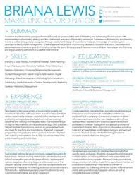 Free Marketing Resume Templates Marketing Resume Sles By Lewis Writing Resume Sle