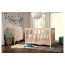babyletto gelato 4 in 1 convertible crib washed natural target