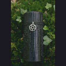 witches black magic candle wicca ritual candle gothic