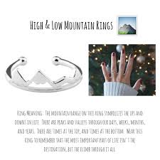 ring meaning high and low mountain ring alpha accessories alpha accessories