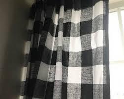 Black Bathroom Curtains Bathroom Curtains Etsy