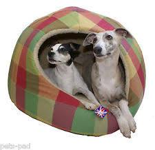 Covered Dog Bed Cotton Covered Dog Beds Ebay