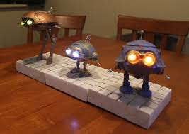 included batteries not included robots prop replicas custom fabrication