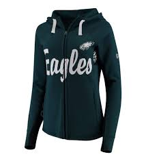 cheap women u0027s philadelphia eagles hands high midnight green rally