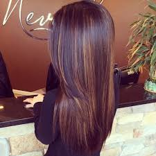 brunette hairstyle with lots of hilights for over 50 50 stylish hair color ideas from celebs dark brown caramel and dark