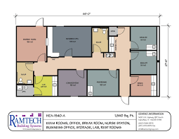 Small Business Floor Plans Modular Medical Building Floor Plans Healthcare Clinics U0026 Offices