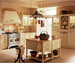 old country kitchen decor with hanging items and antique stuff for