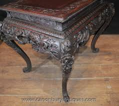 hand carved coffee table hand carved coffee table from germany table designs