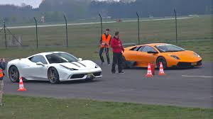 ferrari 458 speciale ferrari 458 speciale vs murciélago lp670 4 sv vs 991 turbo vs