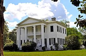greek revival plantation house plans