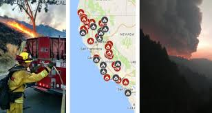 Fires In California Map Map See Where Wildfires Are Burning In California Nbc Southern