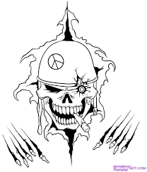 cool skull drawing free download clip art free clip art on