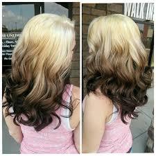 reverse ombre hair photos warm reverse ombre hair colors ideas