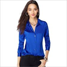 womens silk blouses s xxxl fashion silk satin blouse button silk blouses
