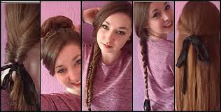 a quick and easy hairstyle i can fo myself cute hairstyles unique cute fast hairstyles for long hair cute
