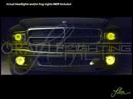 dodge dakota fog light oracle 98 03 dodge durango led halo rings head fog lights bulbs