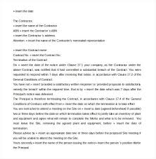 breach of contract letter template uk letter idea 2018