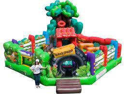 Backyard Inflatables Back Yard Toddler Combo Inflatable Depot