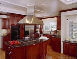 the elegant in addition to lovely cherry wood kitchen cabinets