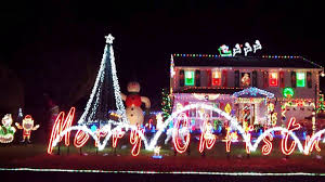 Outdoor Christmas Decoration by Beautiful Christmas Lights On Houses Kenthus Xyz Holiday