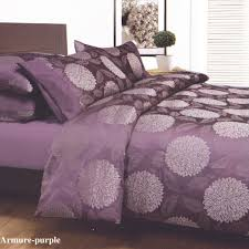 purple bed covers armure purple plum king jacquard quilt doona