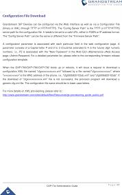 gxp1780 ip phone user manual grandstream networks inc