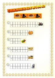 worksheets thanksgiving cryptogram