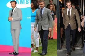 get the look how to dress like david beckham the gentleman u0027s