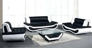 Modern Black Sofas Black And White Sofa Set Black And White Living Room Set