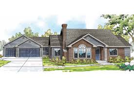 ranch style house plans detached garage free house plans with
