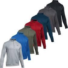 armour sweater armour 2018 ua thermal sweater 1 4 zip mens golf