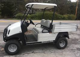 club car used vehicles associates golf car