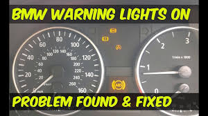 bmw 3 series warning lights bmw abs dsc dynamic stability control warning lights on