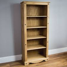 Discount Pine Furniture Home Discount Corona Tall Bookcase Solid Pine Wood Amazon Co Uk