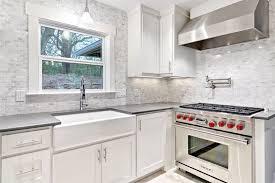 farmhouse sink with backsplash farmhouse sink with backsplash kitchen eclectic with backsplash