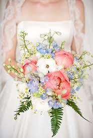 Blue Wedding Bouquets Something Blue Wedding Bouquets Brides