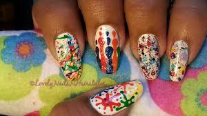 holi nail art in hindi with english subtitles indiannailart holi