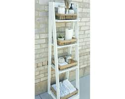 Short Ladder Bookcase Ladder Shelf Etsy