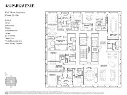 penthouse floor plan big condominium design pinterest