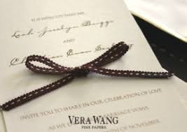 Vera Wang Wedding Invitations Wedding Invitations