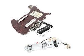 fender deluxe nashville telecaster loaded pickguard tex mex bridge