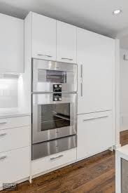 flat white wood kitchen cabinets boston newton contemporary leicht kitchen gaggenau