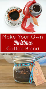 make your own easy christmas coffee blend