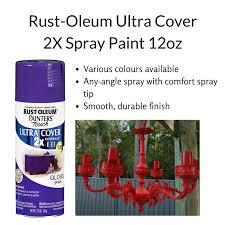 qoo10 rust oleum ultra cover 2x spray paint 12oz various