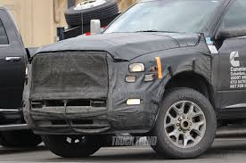 cummins toyota spied 2018 ram 2500 3500 heavy duty with updated cummins