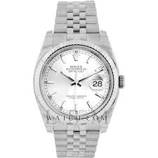 rolex bracelet white gold images Rolex white gold and stainless steel datejust 116234whdia jpg