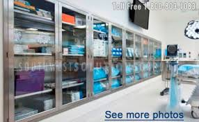 Stainless Steel Wall Cabinets Hospital Modular Stainless Steel Casework Medical Metal Cabinets