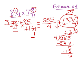 showme grade 5 chapter 7 lesson 7 9 answer key multiplying mixed