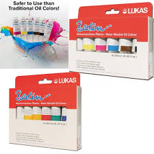 lukas berlin water mixable oil color sets jerry u0027s artarama